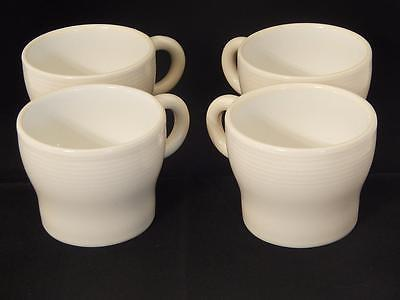Michael Graves Design Celadon Coffee Cups, 4, Cream Color, GC, Local Free Shpg