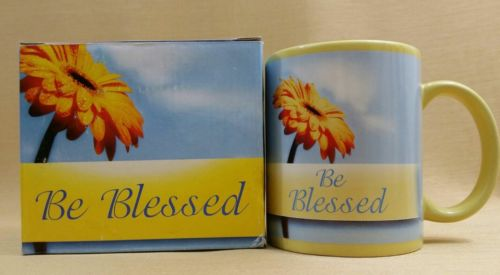 Coffee Cup Mug BE BLESSED The Lord Bless Thee, and Keep Thee NEW