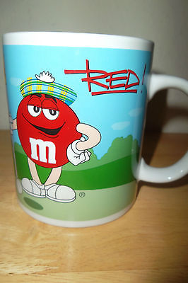 M&M's Mug Football & Golfing on the Green Hole 18 Exclusive Coffee Tea