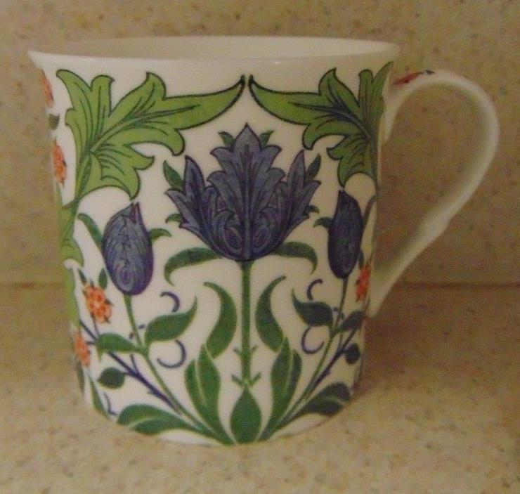 HEATH MCCABE MULTICOLOR FLOWER Gloucestershire Premium Fine China Mug / CUP
