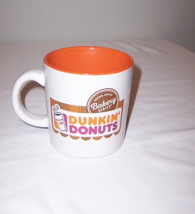Dunkin Donuts Ground Coffee Bakery Series Coffee Tea Mug Cup