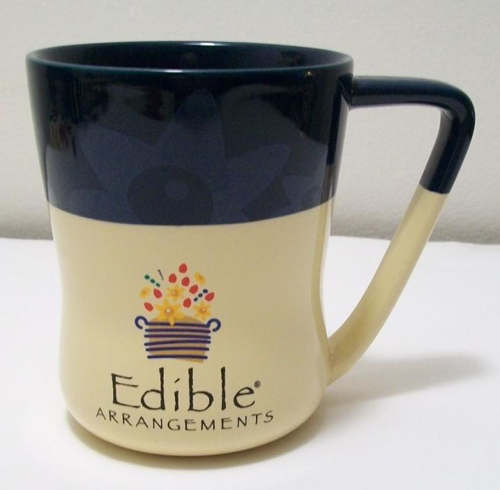 COLLECTOR MUG Edible Arrangements retro floral coffee mug EUC