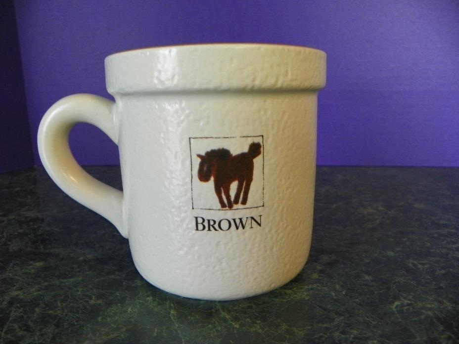 1999 Boston Warehouse Coffe Mug Horse