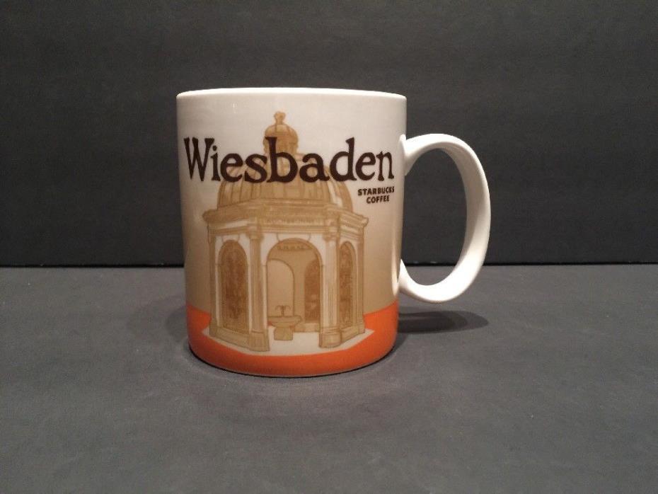 Wiesbaden 2010 Collector Series Starbucks Coffee Mug