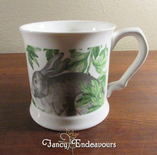 Artistic Accents Rabbit Porcelain Mug