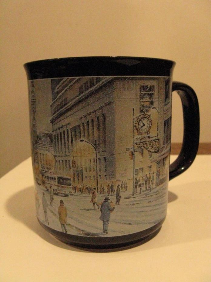KAUFMANN'S Dept. Store 1993 coffee cup--8 oz--black--
