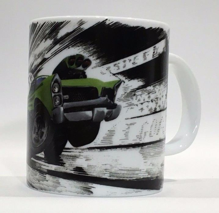 Speed Freaks GOAT Green GTO Ceramic Coffee Mug Cup Country Artists Logo - 10oz
