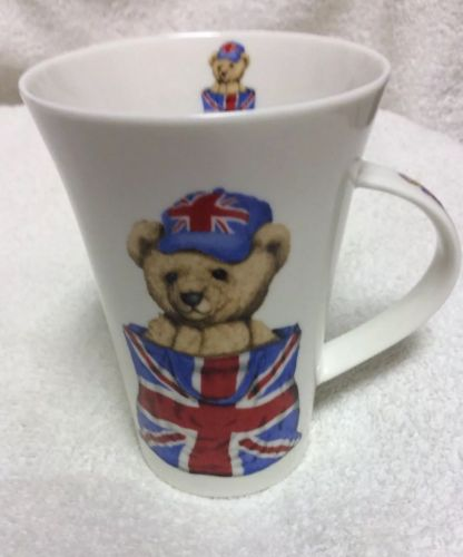 Rather Charming Bear Coffee Mug Lesser & Pavey Bone China made in England