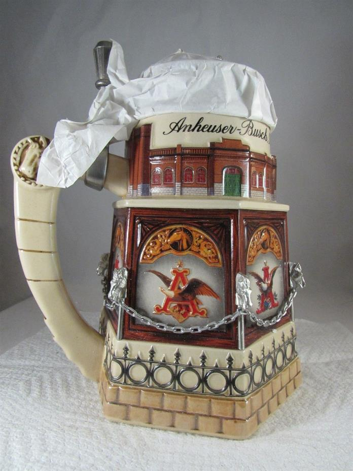 1999 ANHEUSER-BUSCH COLLECTORS CLUB MEMBERS ONLY STEIN