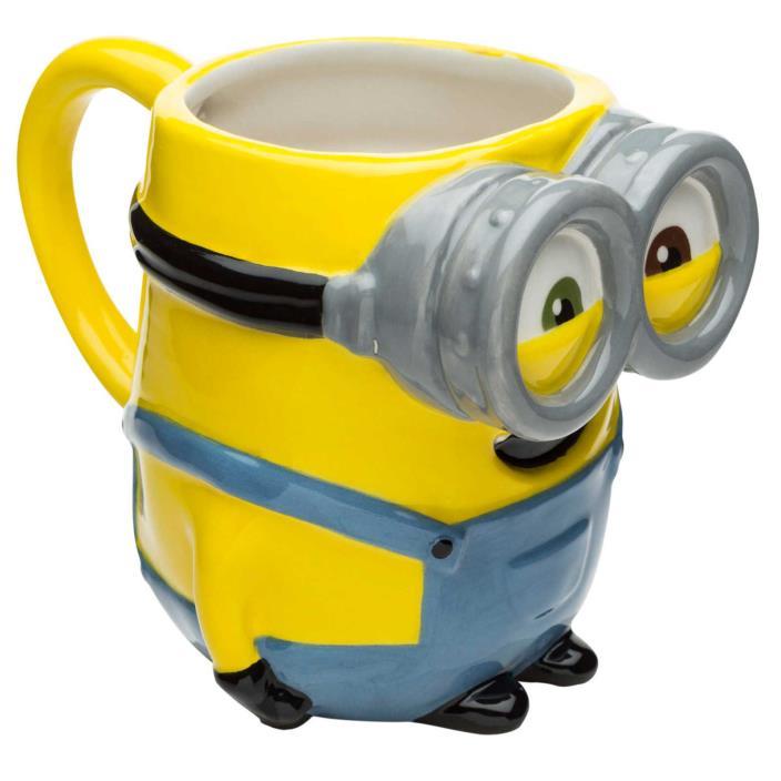 Minions Sculpted Coffee Mug - Bob