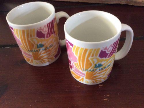 Chart House Coffee Mugs (2)