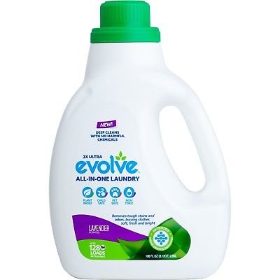 Evolve All-In-One Laundry Detergent, Lavender Scented NEW