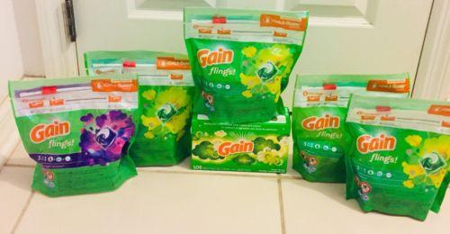 6 Bag Gain Flings 3in1 And 1 Gain Sheets