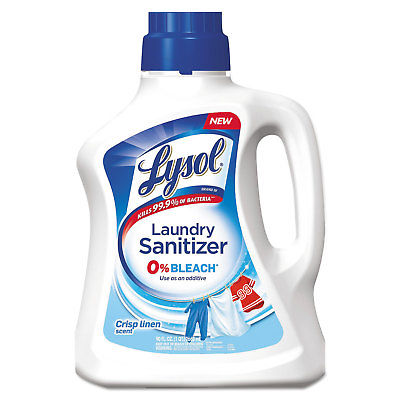 LYSOL Laundry Sanitizer Liquid Crisp Linen 90 oz 95872EA