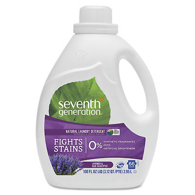 Seventh Generation Natural Liquid Laundry Detergent Lavender & Blue Eucalyptus
