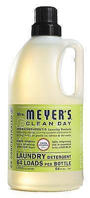 Laundry Detergent, Lemon Verbena Scent, 64 oz., SC Johnson, 14631