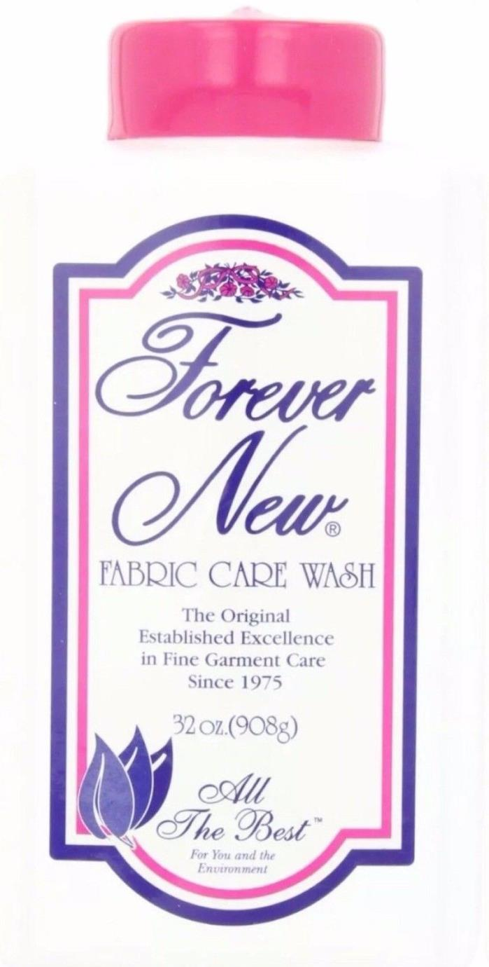 Forever New Fabric Care Detergent Organic Biodegradable Wash 32oz NEW
