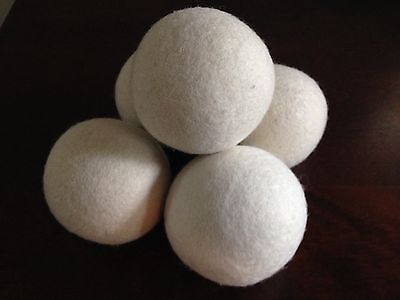20 XL New Zealand Wool Dryer Balls-20 for $20!
