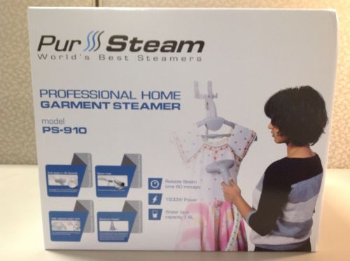 Pur Steam Professional Home Garment Steamer PS-910 Clothing Dress Steamer,NEW