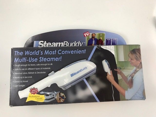Steam Buddy As Seen On TV - In Box - Great for Travel