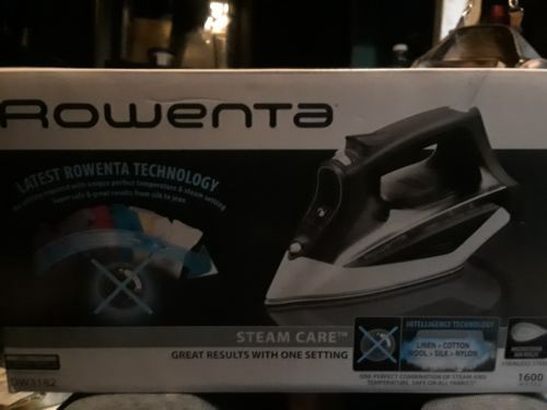 Rowenta AccessSteam DW1150 Steam Iron Preppy Blue,
