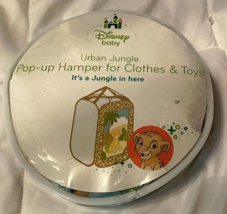 Hamper Disney Baby Urban Jungle Pop-Up for clothes & toys 20