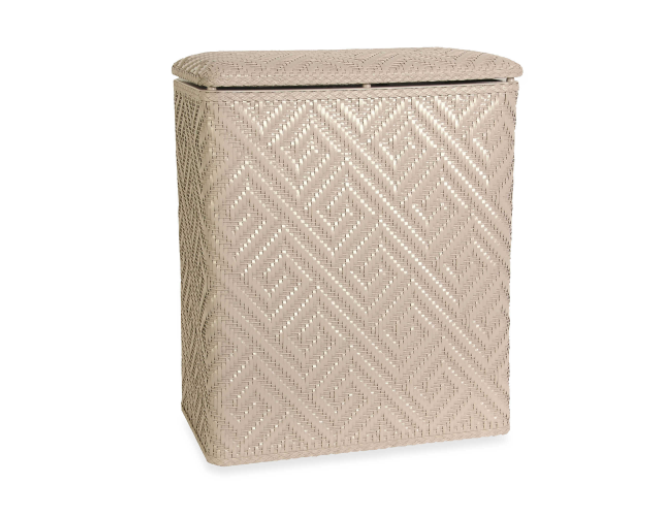 Laundry Hamper Clothing Storage Basket Bedroom Bathroom Washing Bin for Women