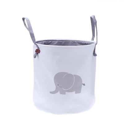 Elephant Pattern Foldable Laundry Basket