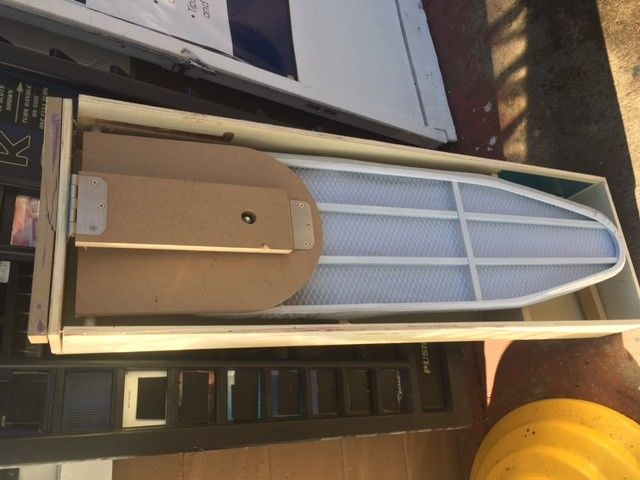 Nutone Built in wall Ironing Board Recessed Wall Mount Fold Out *Shipping Damage