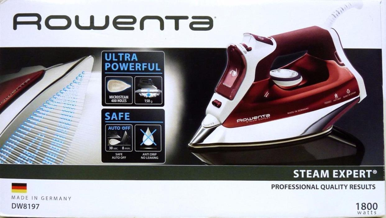 Rowenta Steam Expert Ultra Powerful Iron DW8197 1800 Watts