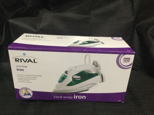 Rival Clothes Iron cord wrap wrinkle free new es2325r steam