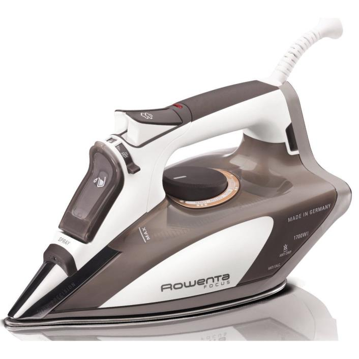 NEW ROWENTA FOCUS STEAM IRON MODEL DW5080