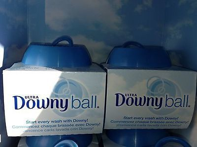 Two (2) DOWNY BALL/BALLS Fabric Softener Dispenser BRAND NEW