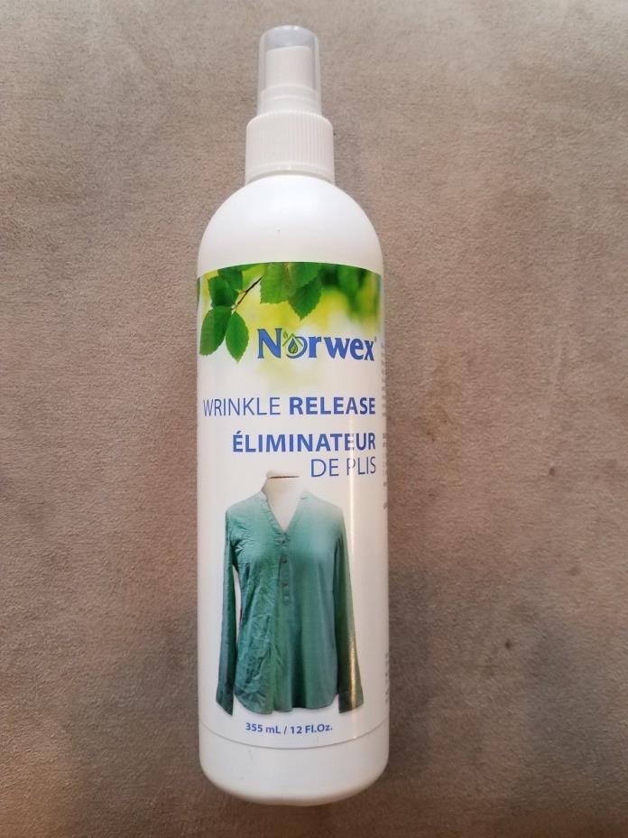NEW Norwex Wrinkle Release Spray 12 fl. oz.