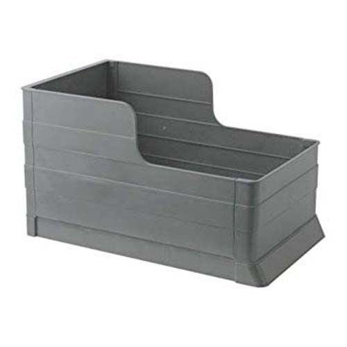 New Ikea Rationell Pull Out Waste Trash Can Tray Bin Gray 201.107.43 from Poland