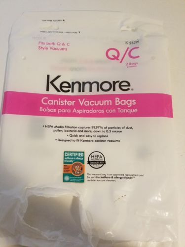 Kenmore canister vacuum bags c