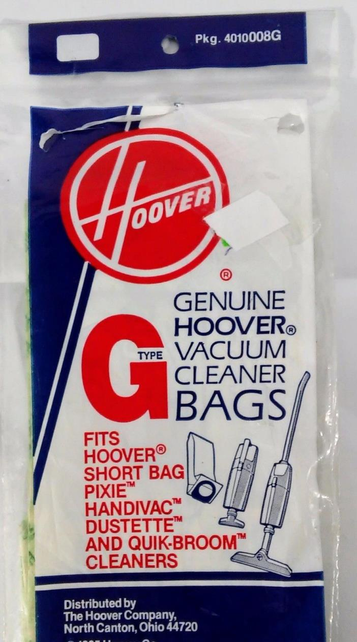 Type G Hoover Vacuum Cleaner Replacement Bags 2 TWO Bags NEW