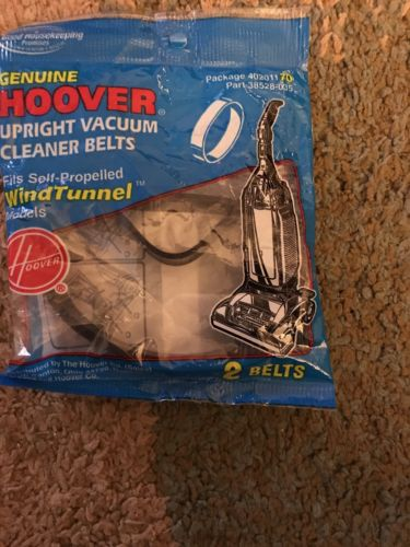 NWT Hoover upright vacuum cleaner bags for the wind tunnel models. (Lot 1)