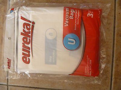 Eureka Style Type U Vacuum Dust Cleaner Bags GENIUNE  54310-3 Bags-New  9000