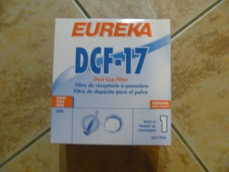 Eureka DCF-17 Filter (1pk) Part#63170A NEW