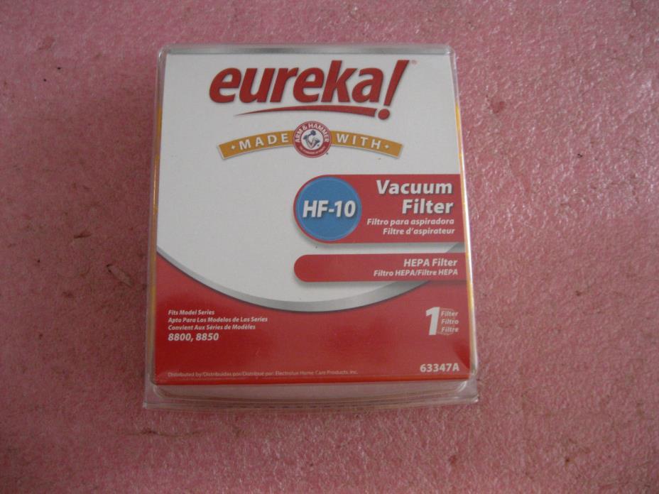 Genuine OEM Eureka Vacuum Cleaner HF10 HEPA Filter with Arm & Hammer 63347A