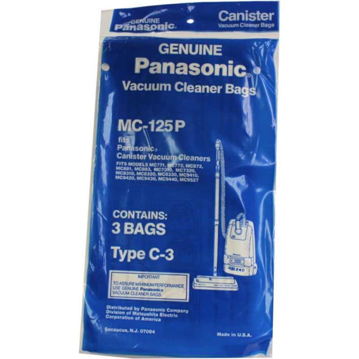 Panasonic Type C-3 vacuum cleaner bags #MC-125P
