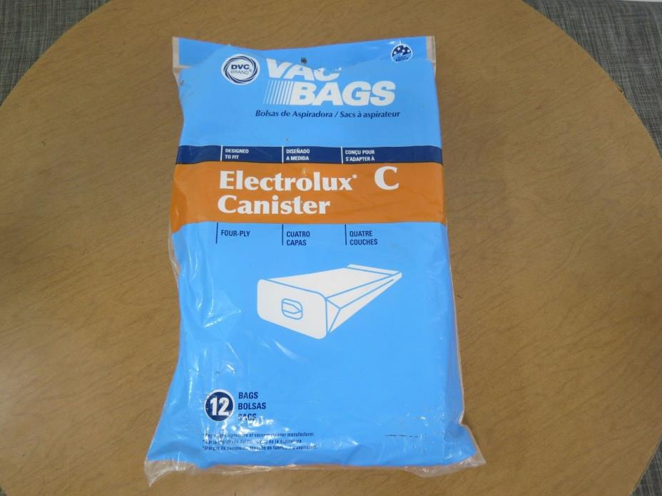 Electrolux Canister Vacuum Style C Vacuum Bags 11 Bags