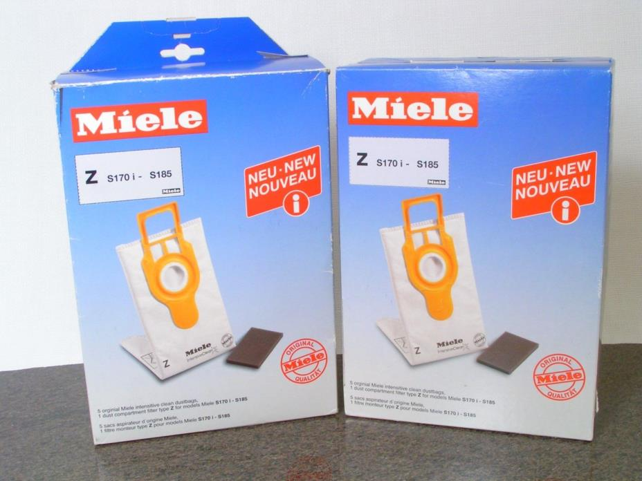 Miele Z Vacuum Cleaner Bags  Dust Bag Filter Genuine 2 Boxes -1dustbag +1 filter