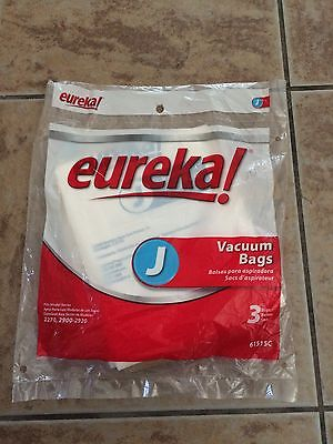 1Pack GENUINE Eureka Style J Disposable Vacuum Cleaner Bags
