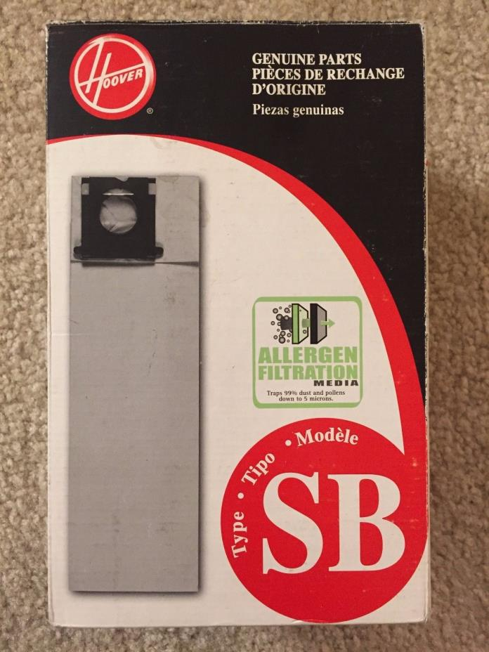 NEW Hoover Type SB 10 Pack Vacuum Cleaner Bags AH10170 440001915