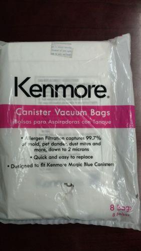 Kenmore Canister Vacuum Bag for M Allergen Filtration 20-50101 - 7 PK