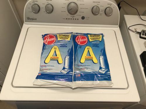 Hoover Type a Allergen Bags, 2 (3) Packs, Torn Package