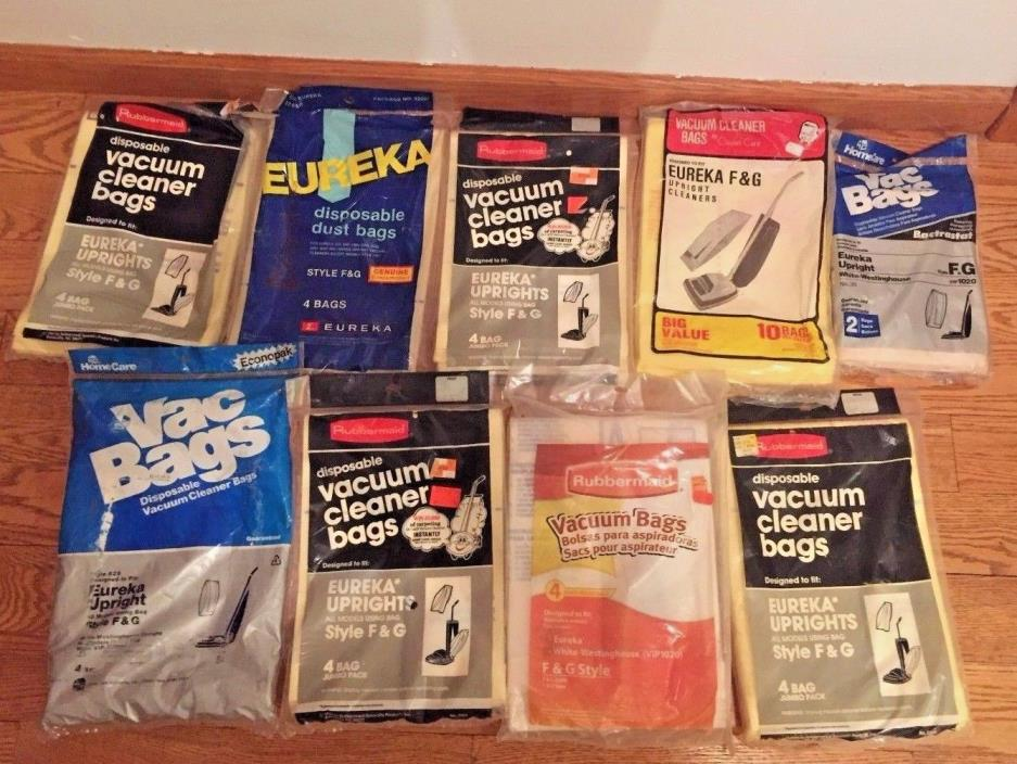 33 Vacuum Bags For Eureka Upright Style