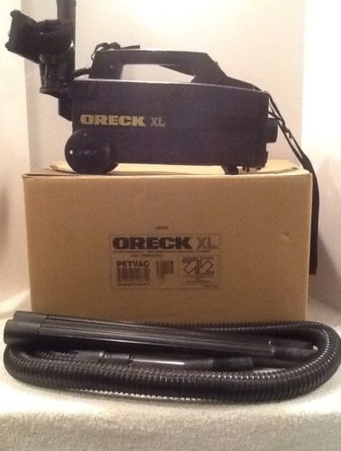 Oreck XL BB870-AS Black Portable Compact Handheld Canister Vacuum attachments